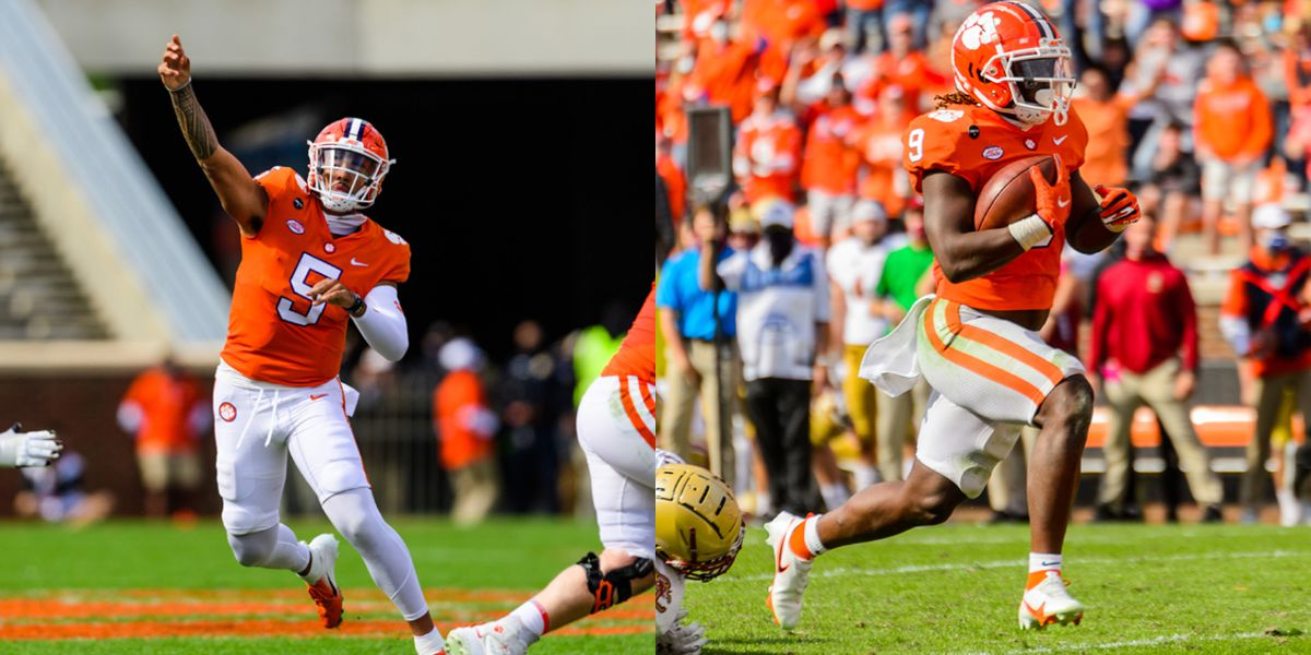 Clemson's 'epic' comeback at Death Valley fueled by DJ, Etienne