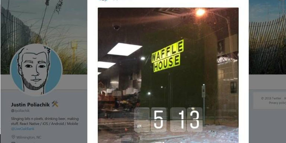 This NC man's punishment for losing in fantasy football? 24 hours at a Waffle House.