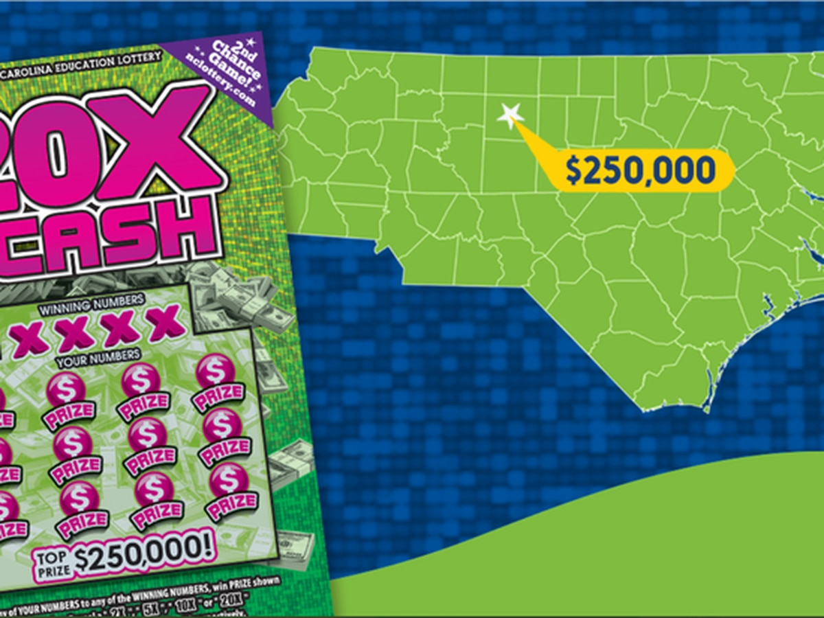 'I just started shouting,' woman says after routine change ends with NC lottery win