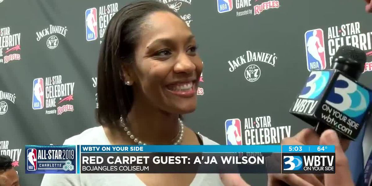 Celebrities hit the red carpet at NBA All-Star Game in Charlotte