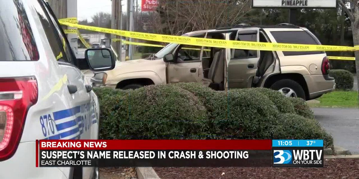 Suspect's name released in crash and shooting