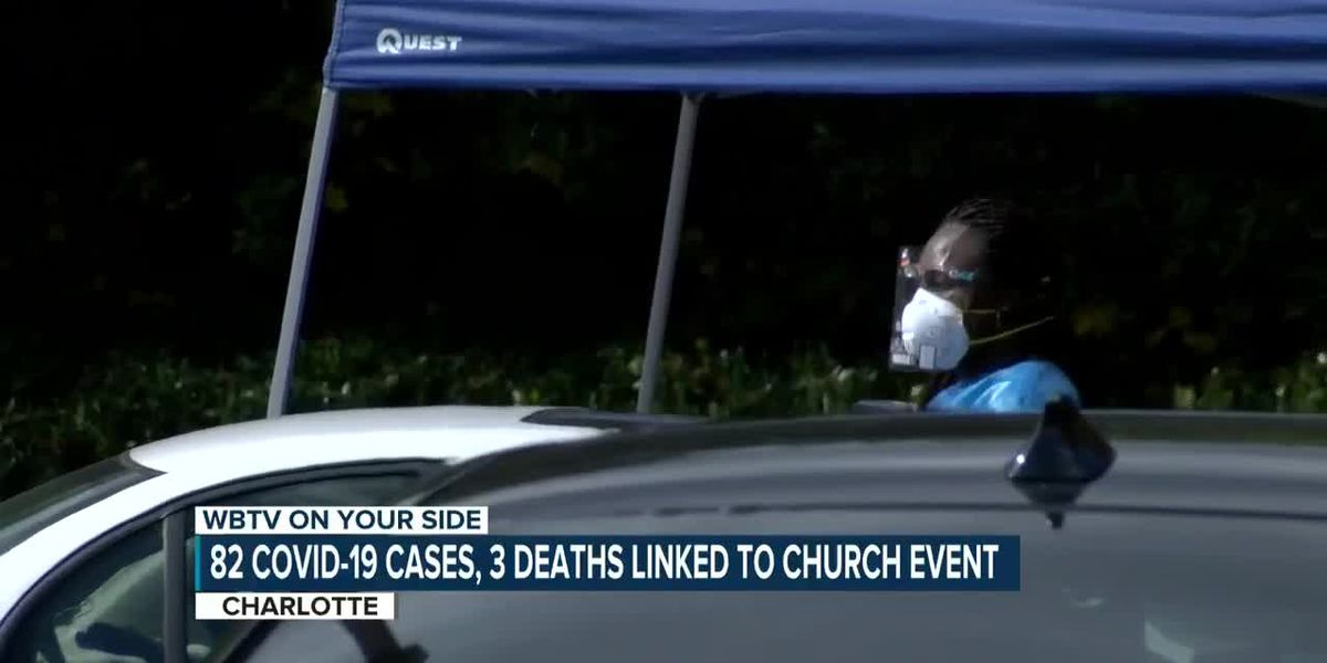 82 COVID-19 cases, 3 deaths linked to church event