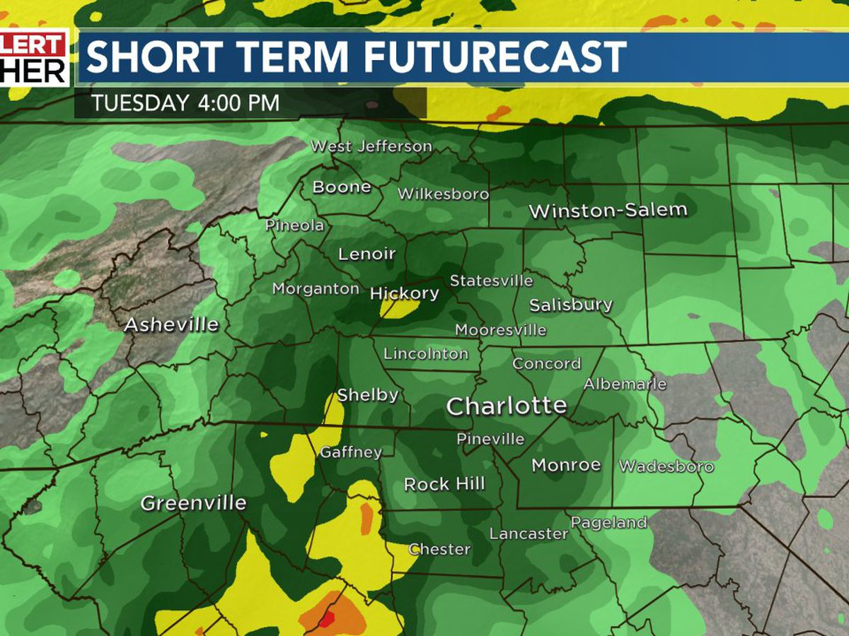 First Alert: Cold rain today ends warm, dry stretch