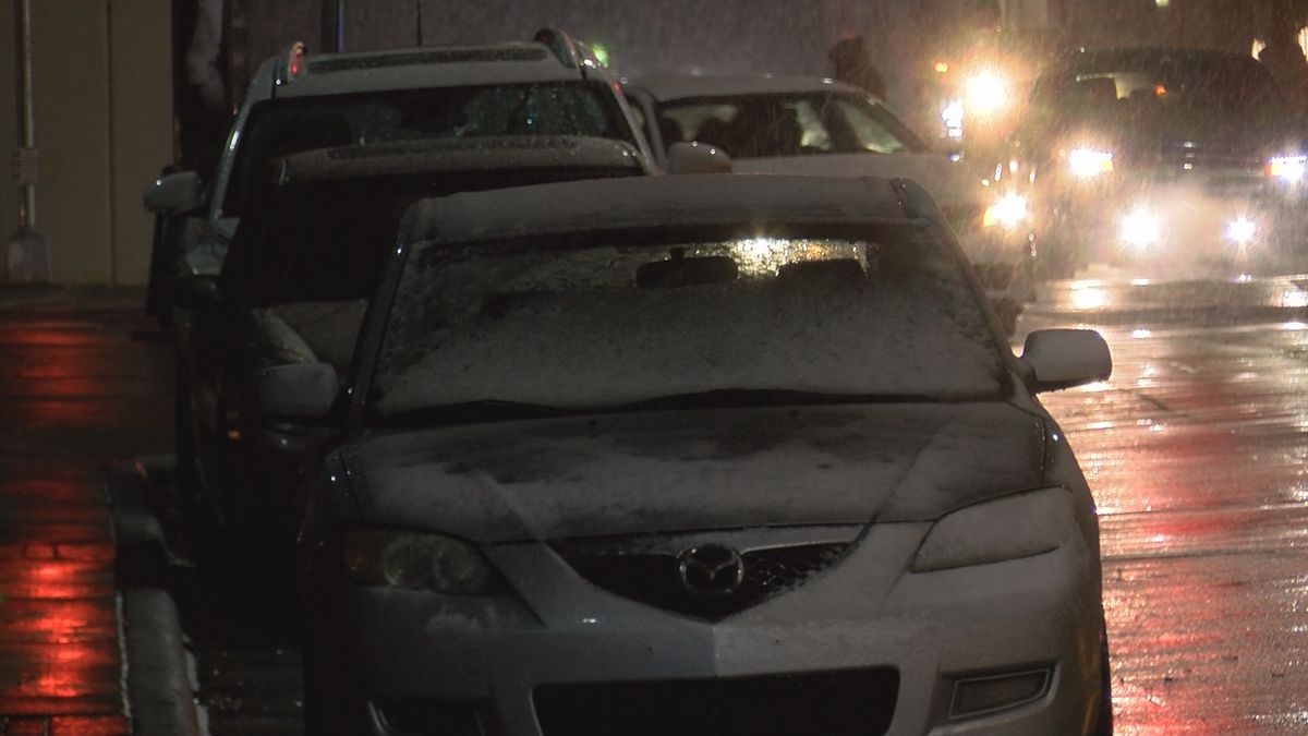 Charlotte residents voice winter weather concerns after evening precipitation