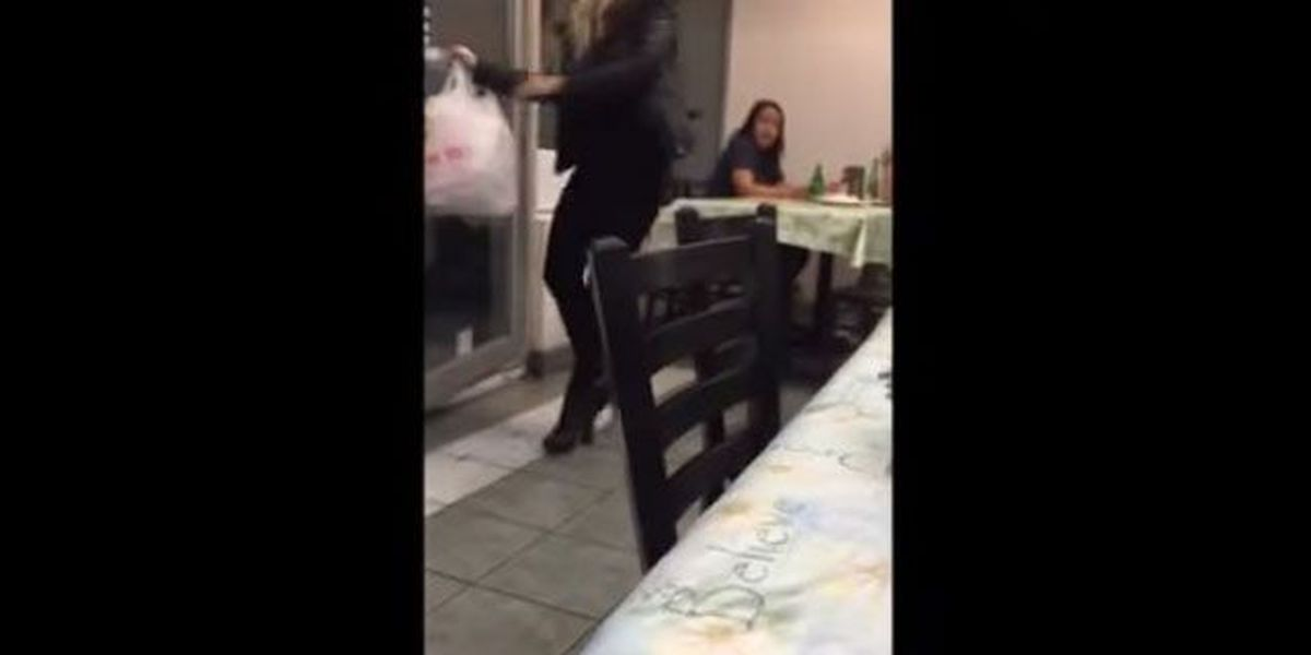 Viral video: Instant karma knocks woman right in the head