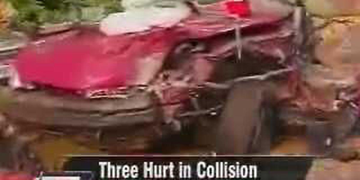 Three People Hurt in Caldwell County Crash