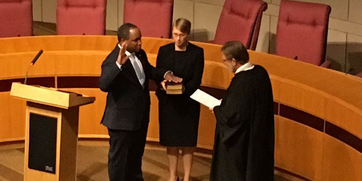 First African American Mecklenburg County DA is sworn in