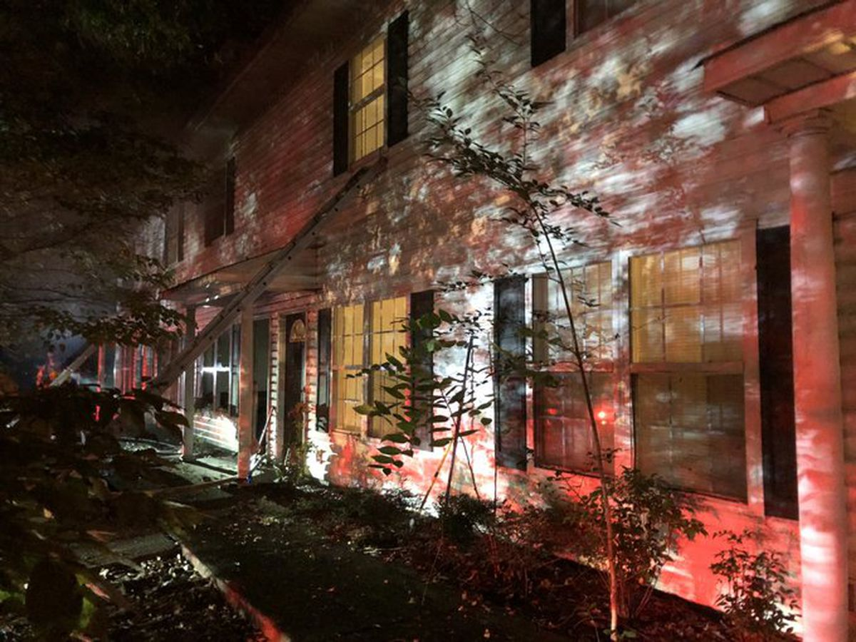 Arson suspected in fire at Salisbury apartment building