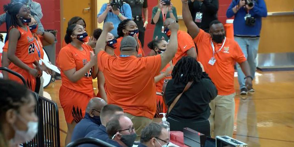Vance blasts by Garner 74-38 for second straight state championship