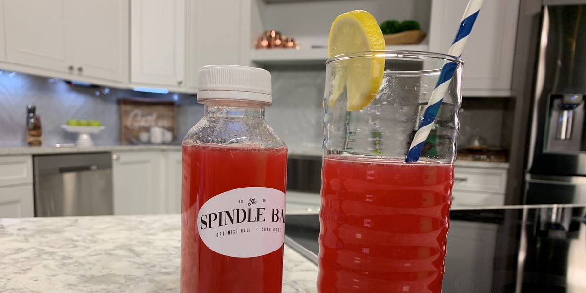 Super Bowl Punch From Spindle Bar