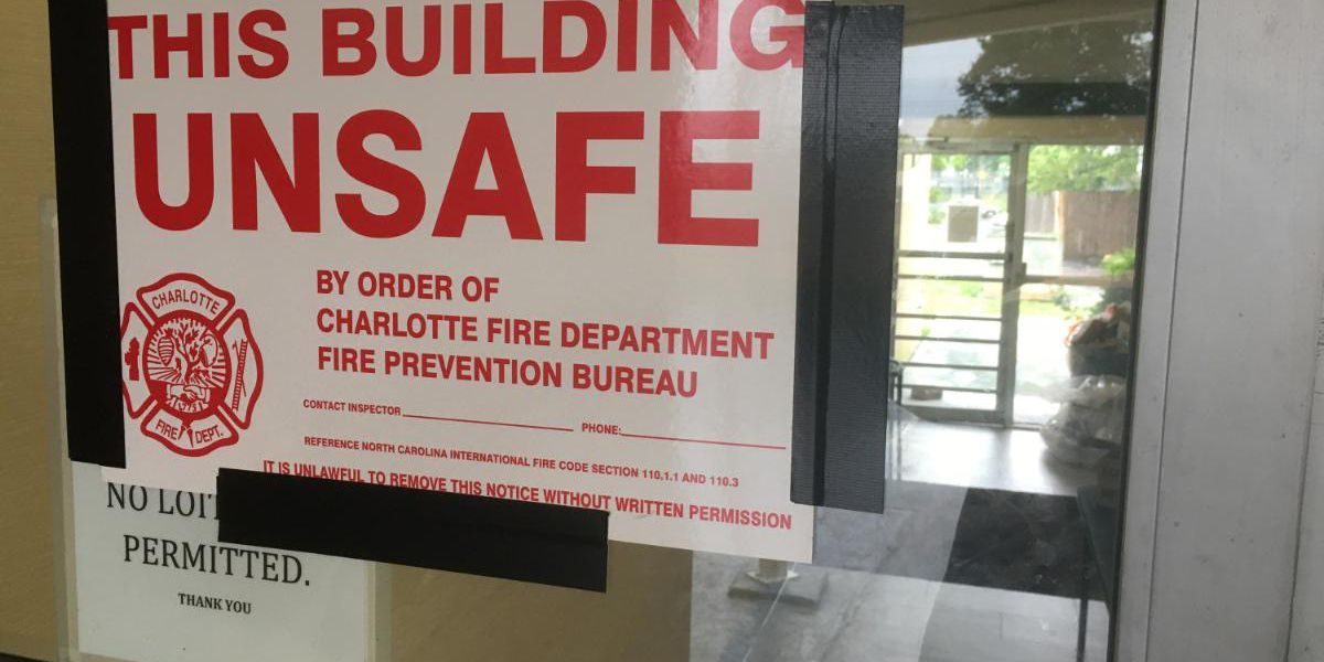 Fire department deems Charlotte hotel unsafe after discovery of 'significant issues' with life-safety systems