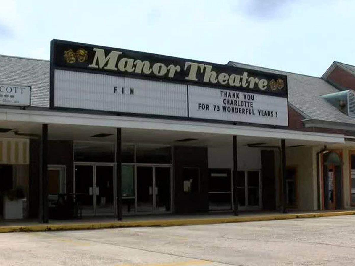 A final goodbye to the Manor Theater in Charlotte