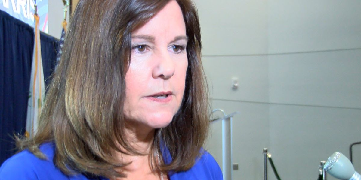Second Lady Karen Pence arrives in Charlotte for Mark Harris campaign
