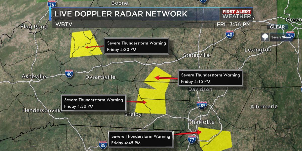 FIRST ALERT: Thunderstorms cause flooding, power outages across area