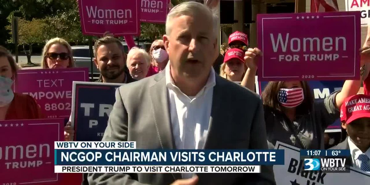 NCGOP chairman visits Charlotte