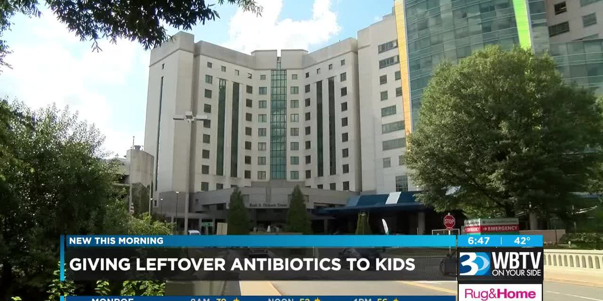 New study found almost half of parents re-use antibiotics