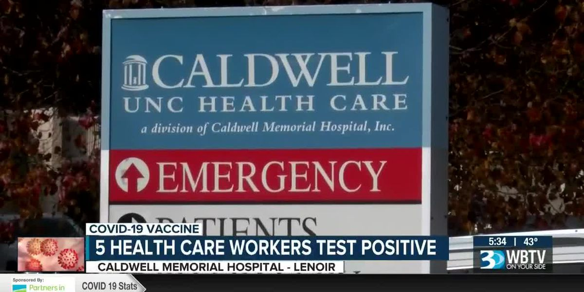 Vaccinations underway at Caldwell County hospital as emergency department has COVID-19 cluster