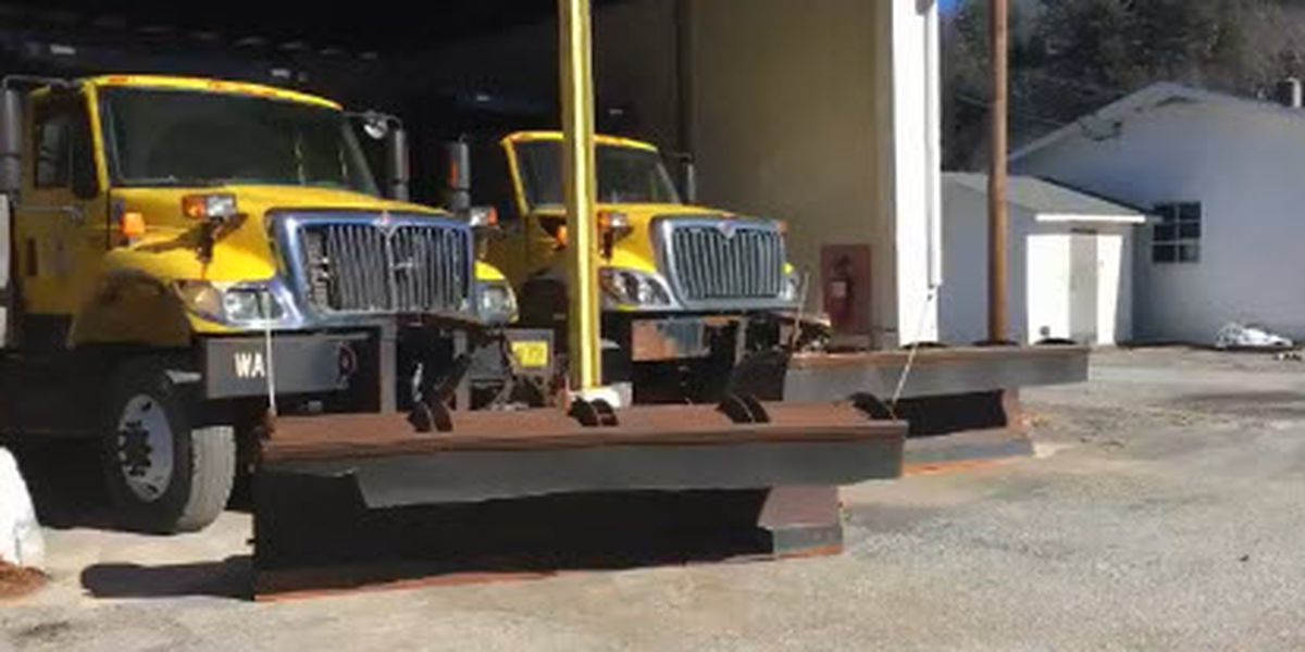 N.C. foothills prepare for possible snow