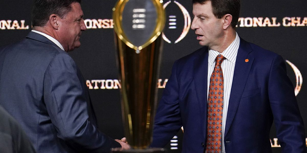 LSU, Clemson motivated by the opportunity to play for national championship in New Orleans