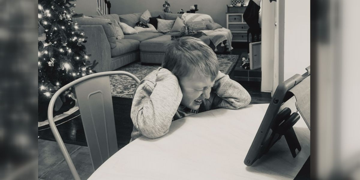 'This is a picture of every parent's worst nightmare'; Some CMS parents say virtual learning is taking emotional toll on kids