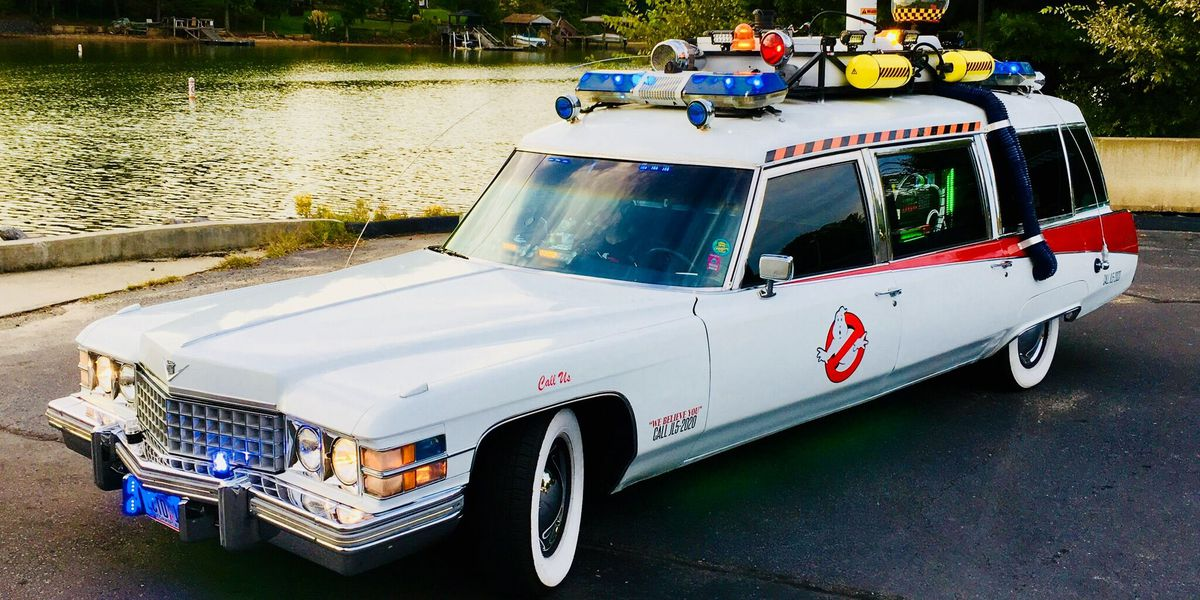 Who you gonna call? Ghostbusters ride coming to Charlotte Motor Speedway