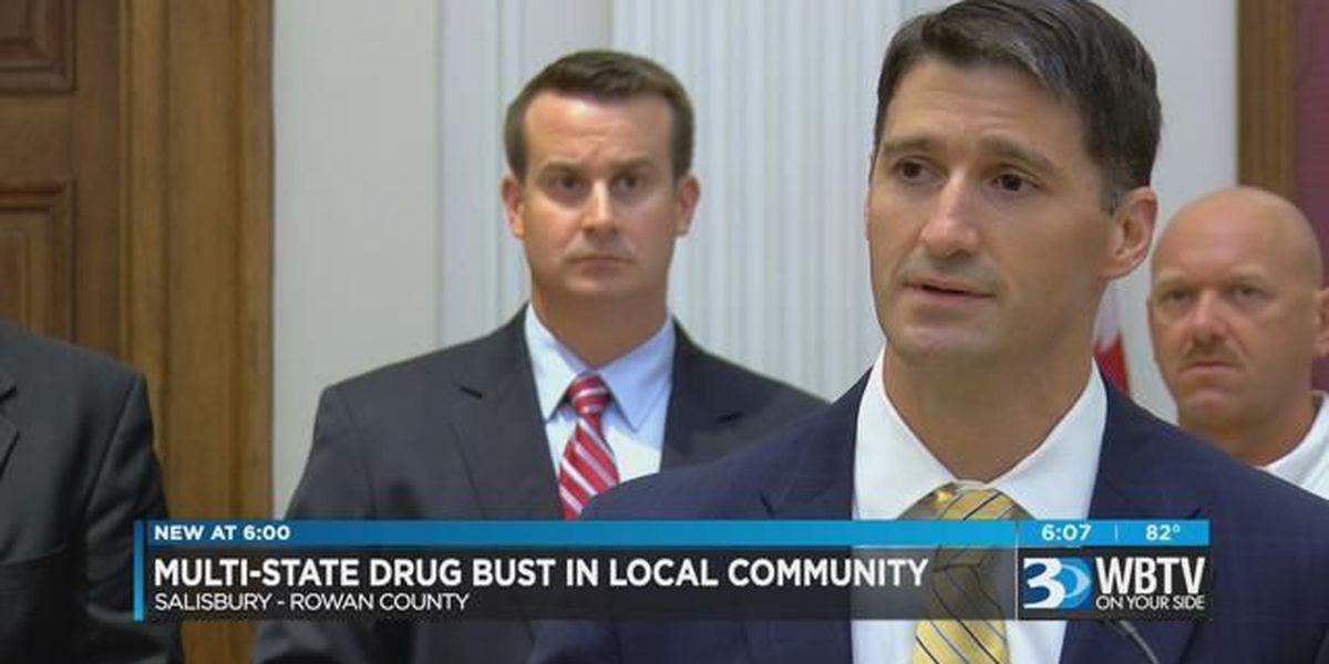 Rowan County methamphetamine dealer gets 16 years in prison