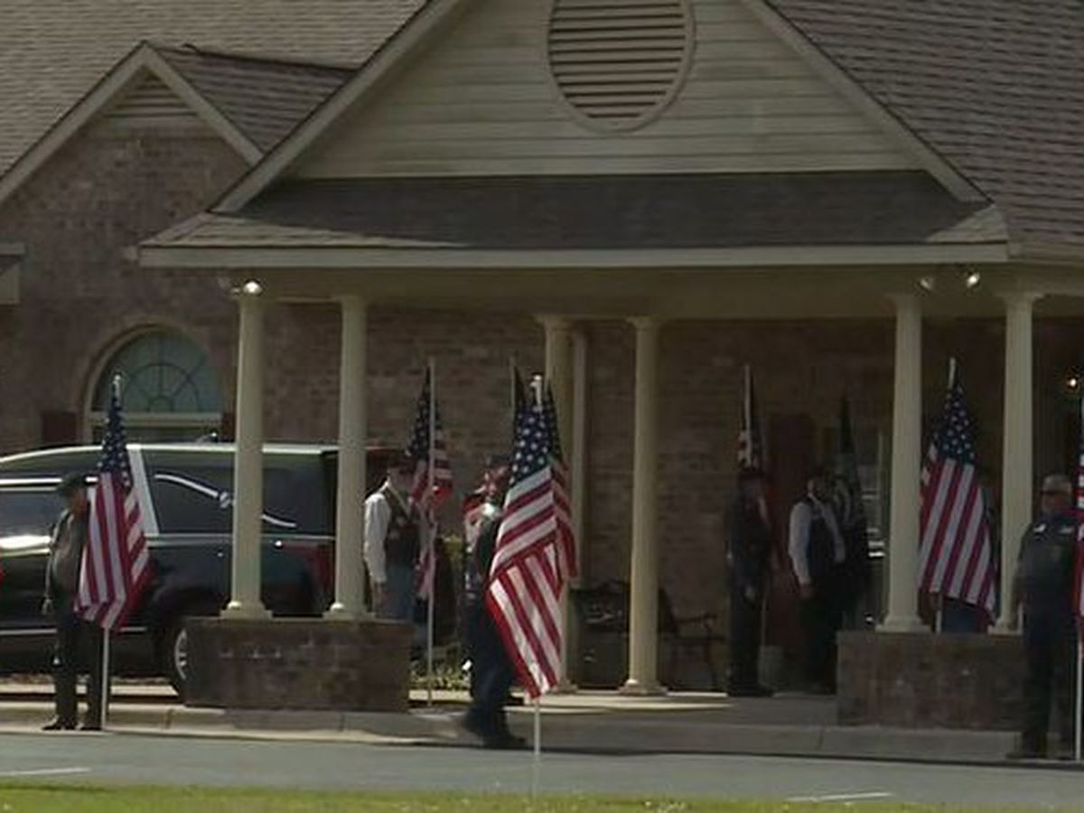 Family holds funeral for Beaufort County man who died in attack on Pearl Harbor