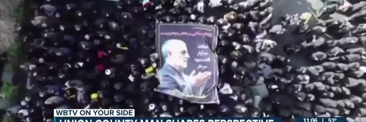 Local Middle East analyst comments on death of Iranian general