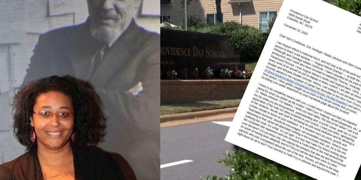 Scholar, niece of 'Fences' playwright sends letter to Charlotte school after student contract terminated