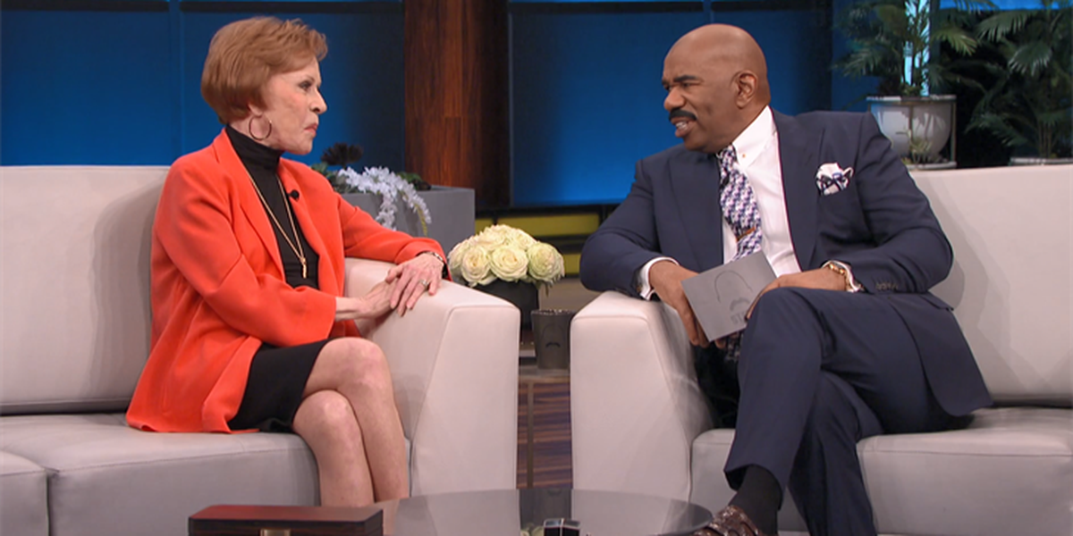 Carol Burnett dishes on new special, past guests