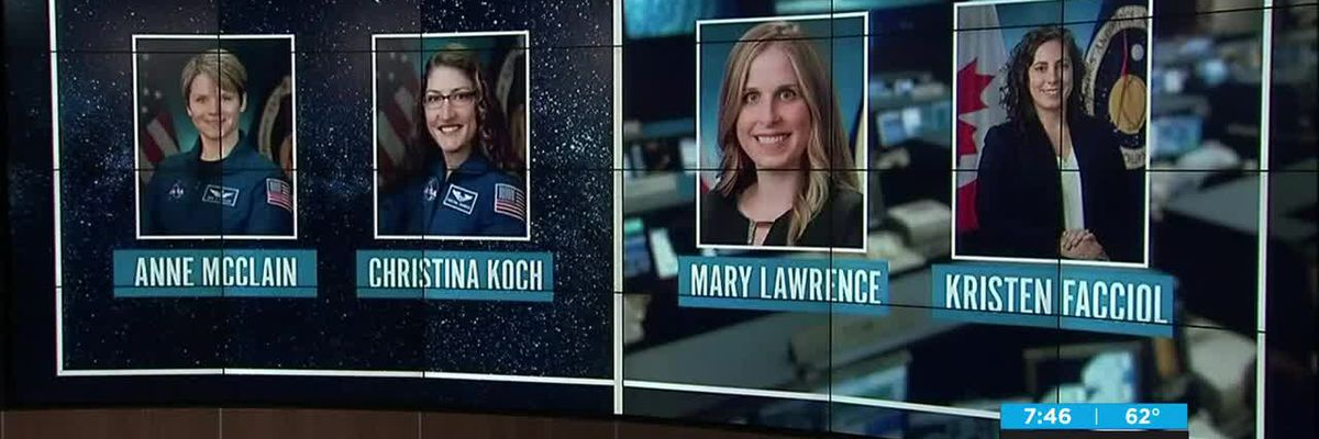 Learning more about women in NASA