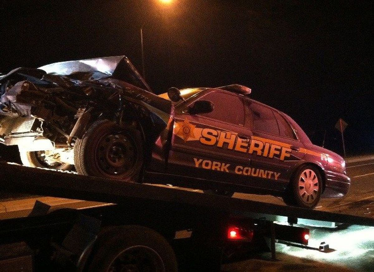 officials  suspected drunk driver crashes into york county