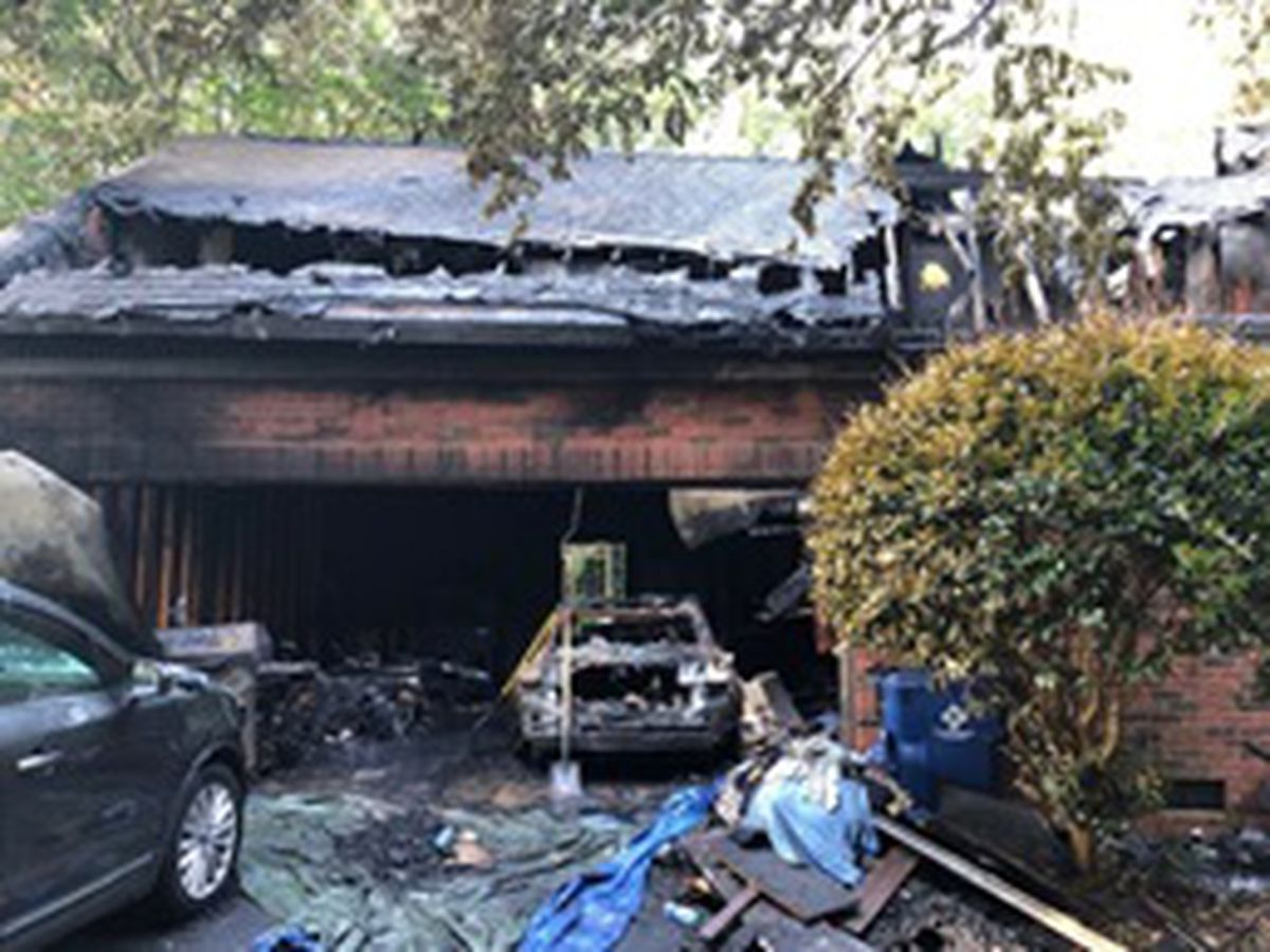 Fire destroys part of Union County home