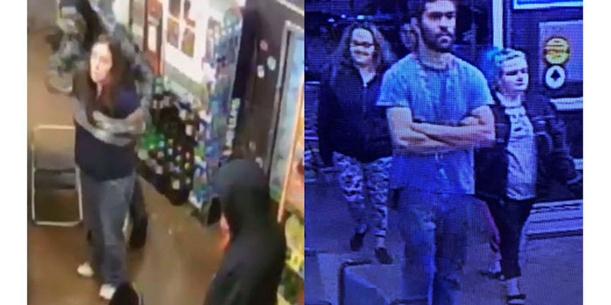 Trio wanted after pregnant clerk zip-tied, wrapped in duct tape during robbery