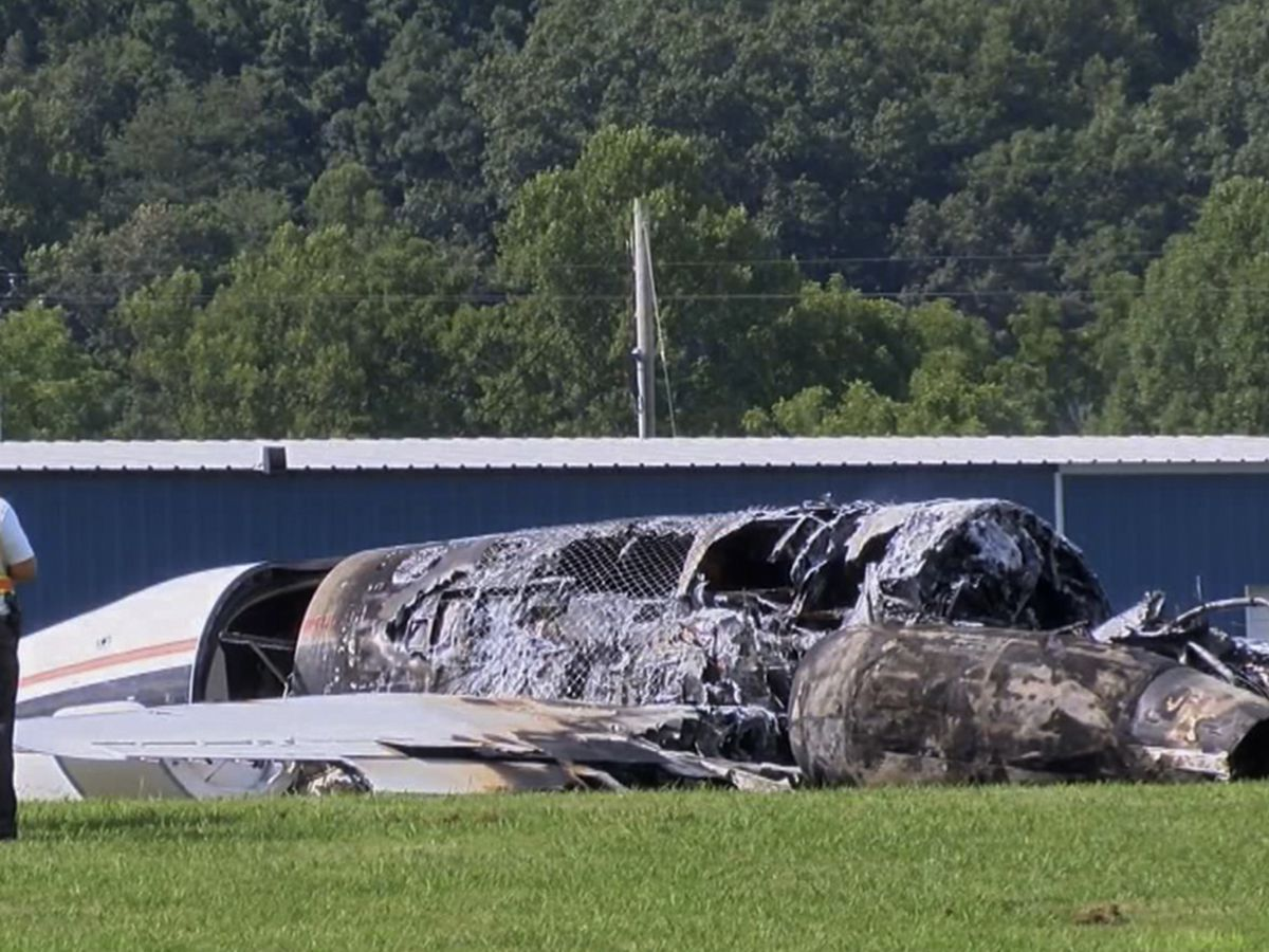 NTSB: Pilot's actions likely caused Earnhardt plane crash