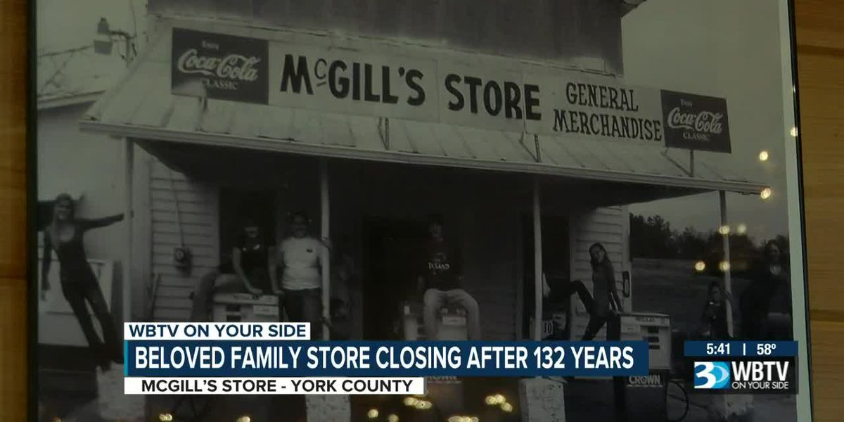 Beloved family store McGill's closing after 132 years