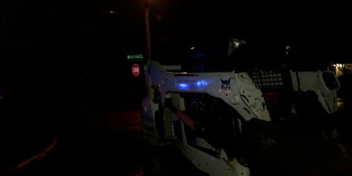 Law enforcement chase stolen 'Bobcat' down busy N.C. roads