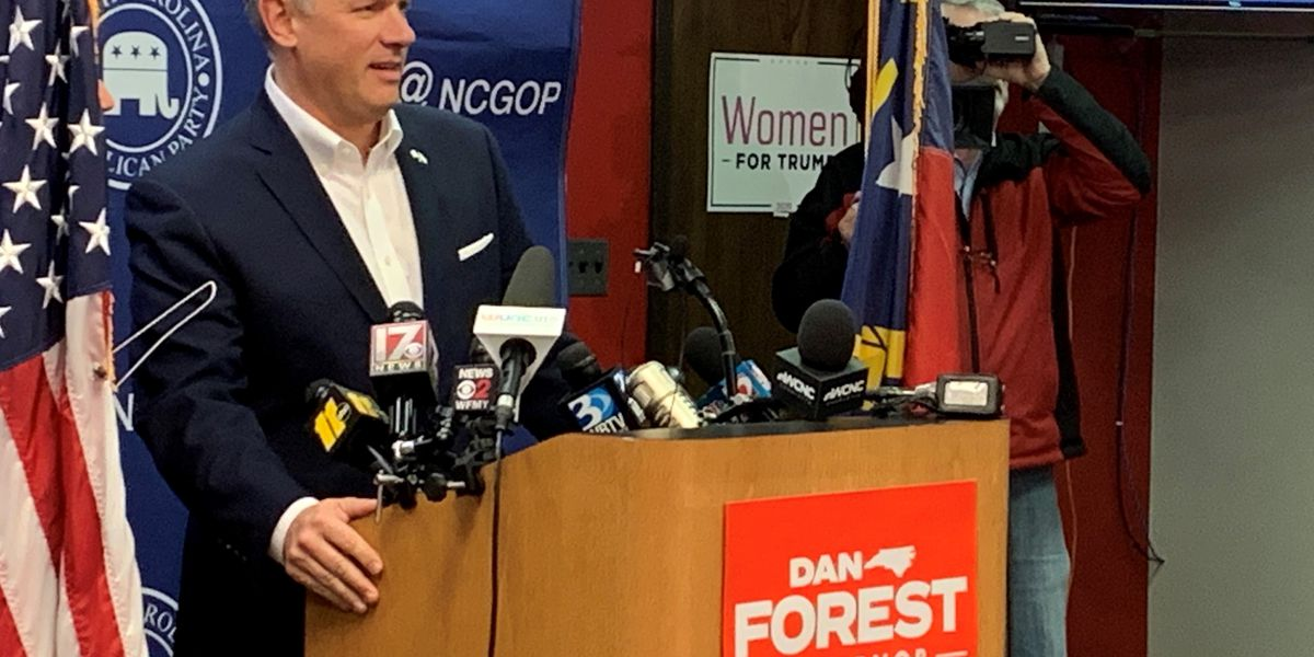 Forest, Republicans tell supporters to prepare for tough fight in November election