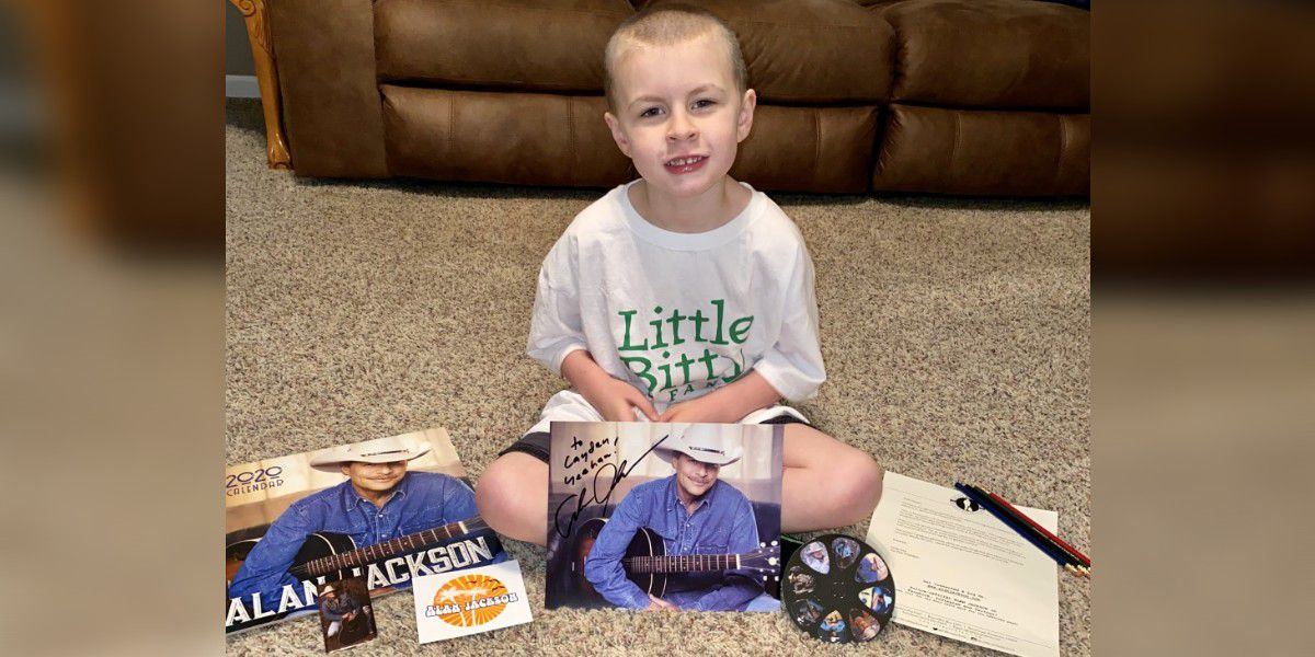 Molly's Kids: Alan Jackson gets care package to Statesville boy