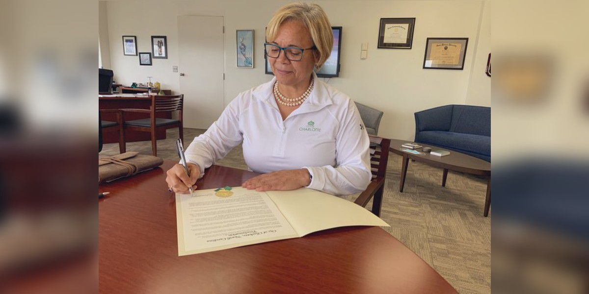 Charlotte Mayor Vi Lyles signs proclamation declaring racism a public health crisis
