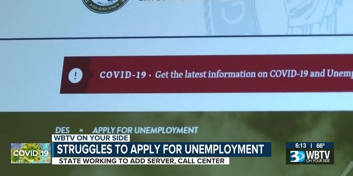 State calls problems with filing unemployment benefits 'unacceptable'