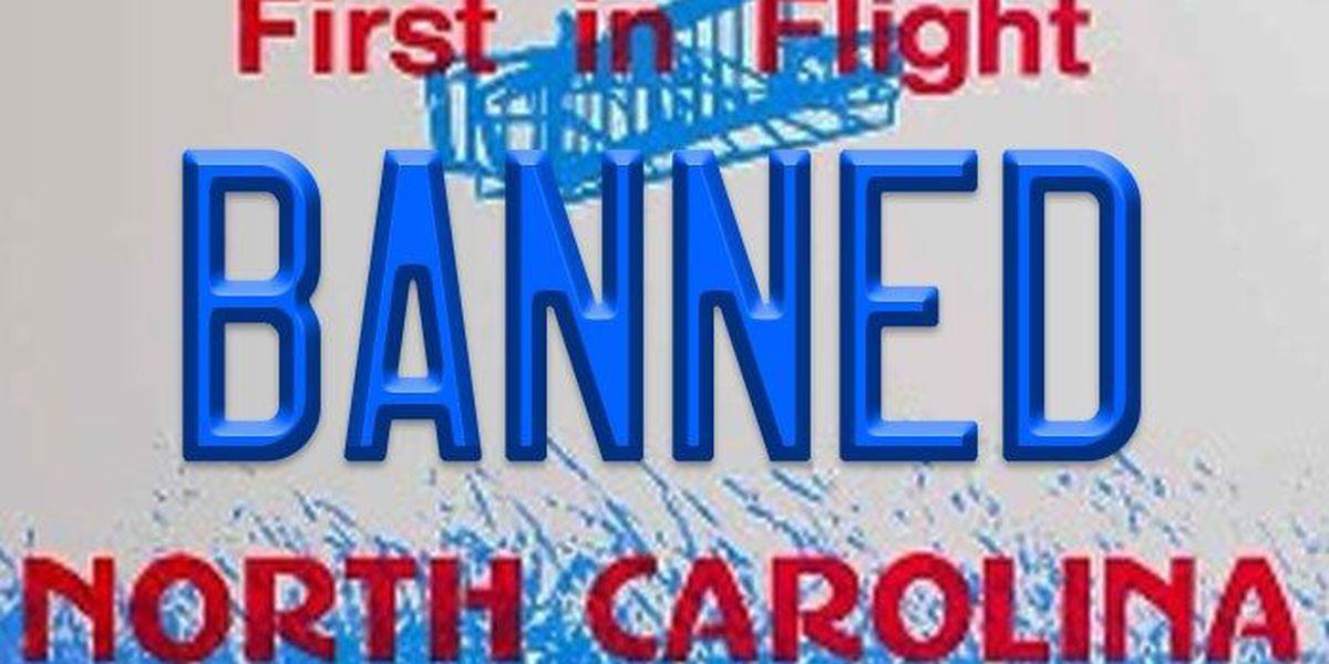 SLIDESHOW: Banned license plates in North Carolina