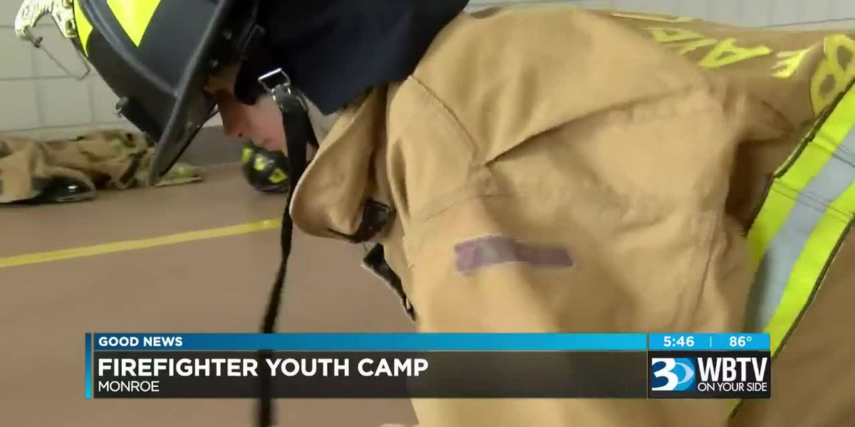 Monroe Fire Department's Youth Camp