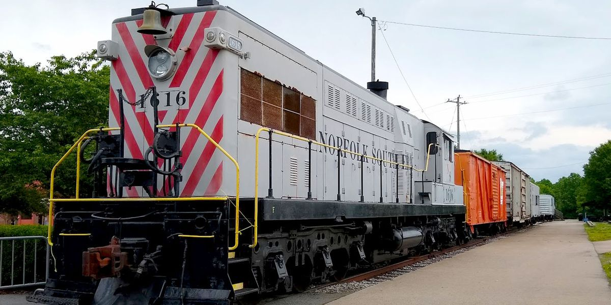 N.C. Transportation Museum opened to the public on Thursday