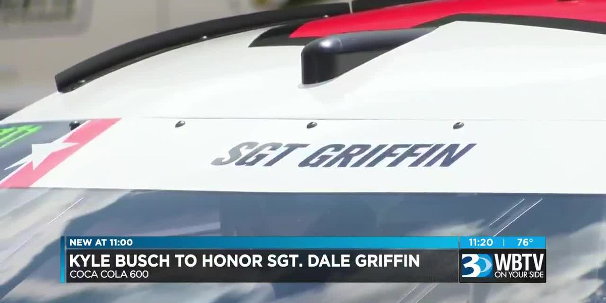Kyle Busch to honor Sgt. Dale Griffin at Coca Cola 600