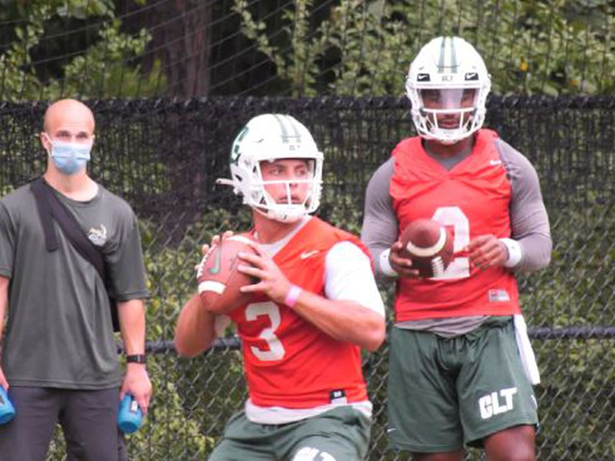 Charlotte 49ers starting QB Chris Reynolds out indefinitely