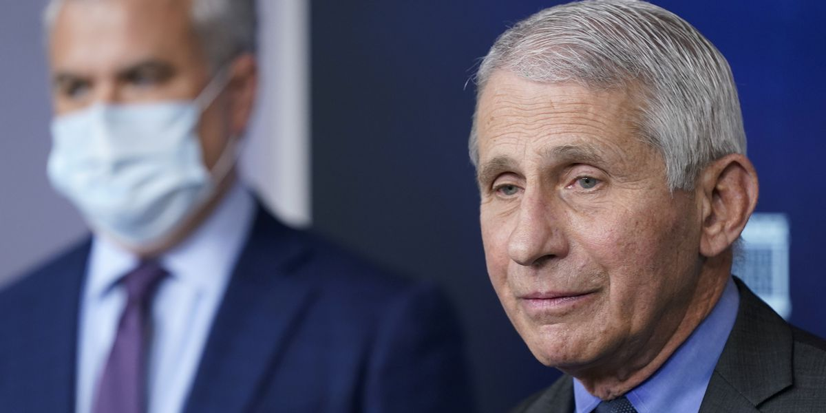 Fauci: Reasonable for businesses to keep masks