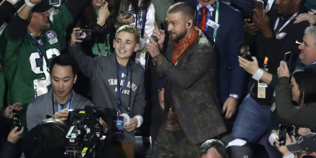 Kid who took viral Super Bowl selfie with Justin Timberlake is from NC