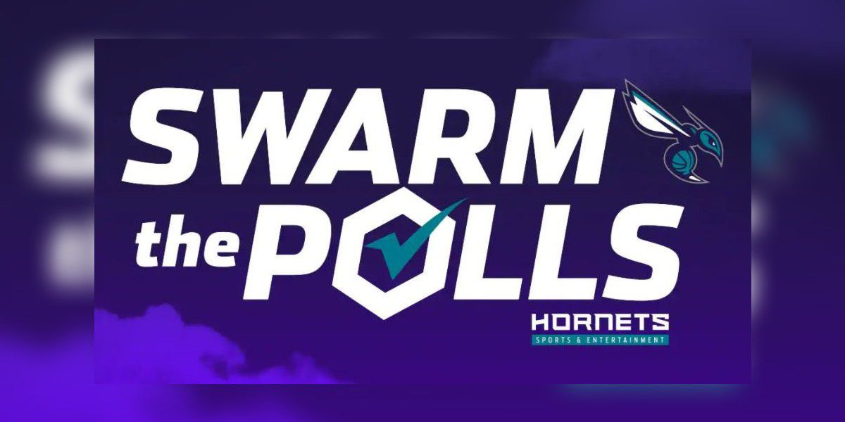 "Charlotte Hornets unveil ""Swarm the Polls"" initiative"