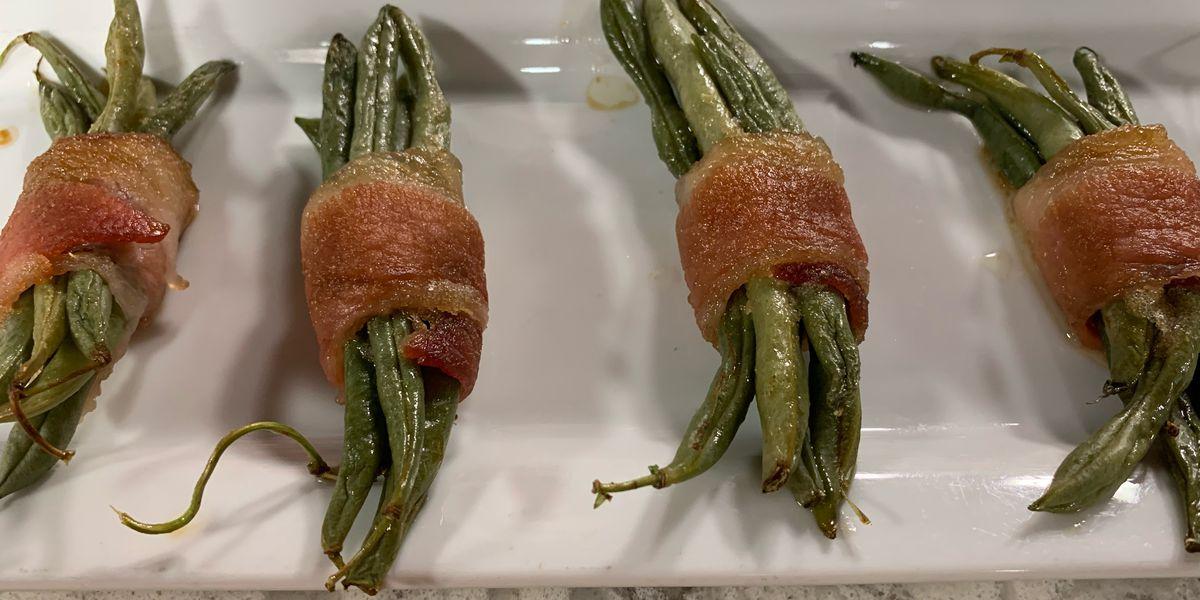 WBTV's Family Recipes: Chandler Morgan's Bacon Hugged Green Beans